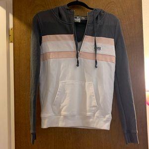 PINK VS quarter zip hoodie